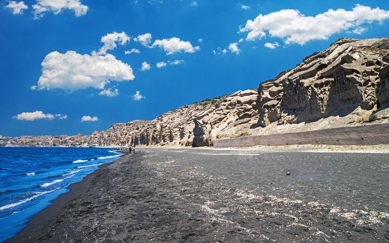 Vlychada, Santorini, Kreikka.