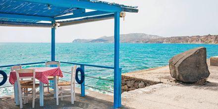 Viihtyisä Vlychada, Santorini, Kreikka.