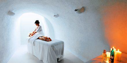 Spa hotelli Notos Therme & Spassa. Vlychada, Santorini, Kreikka.