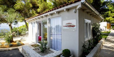Vastaanotto, Waterman Beach Village Bungalow, Brac, Kroatia.