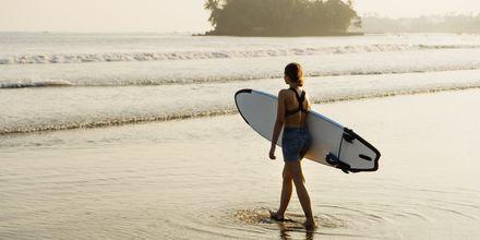 Weligama Bay on erinomainen paikka tutustua surffaukseen.