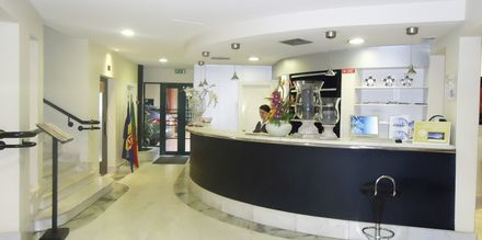 Vastaanotto, Hotelli Windsor, Funchal, Madeira.