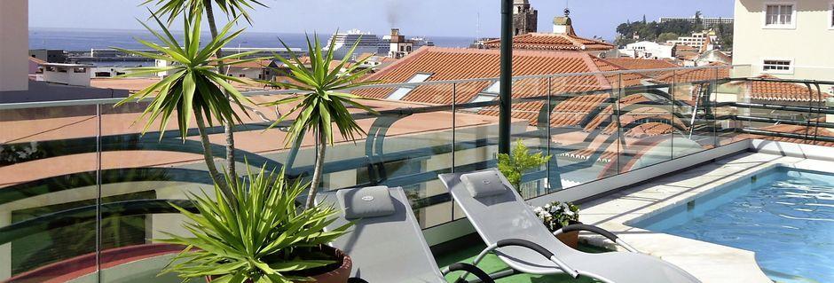 Allas, Hotelli Windsor, Funchal, Madeira.