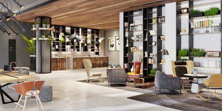 Vastaanotto hotellilla Zabeel House by Jumeirah The Greens. Dubai, Arabiemiraatit.