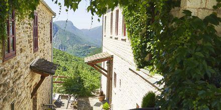 Vuoristokylä Papigo, Zagorian alue, Kreikka.