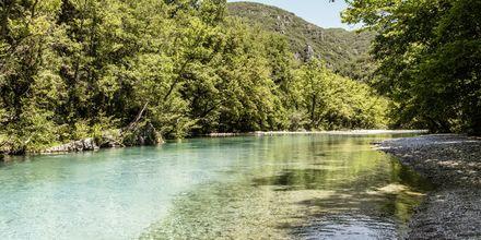 Voidomatis-joki, Zagorian alue, Kreikka.