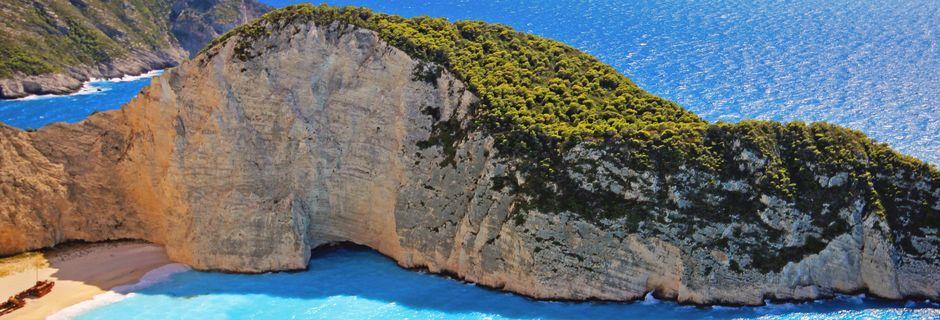 Smugglers wreck. Zakynthos, Kreikka.
